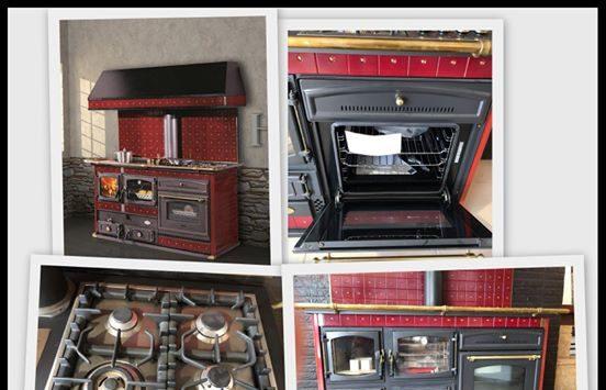 Cucina a legna Emanuelle – ANSELMO COLA