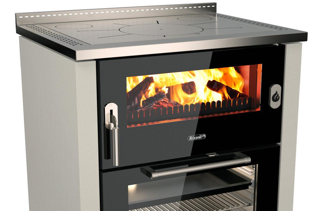 Cucina a legna serie ML80 – RIZZOLI